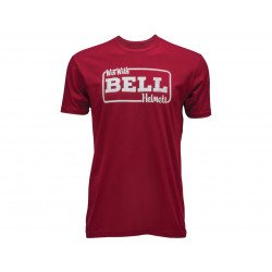 T-Shirt BELL Win With Bell rouge