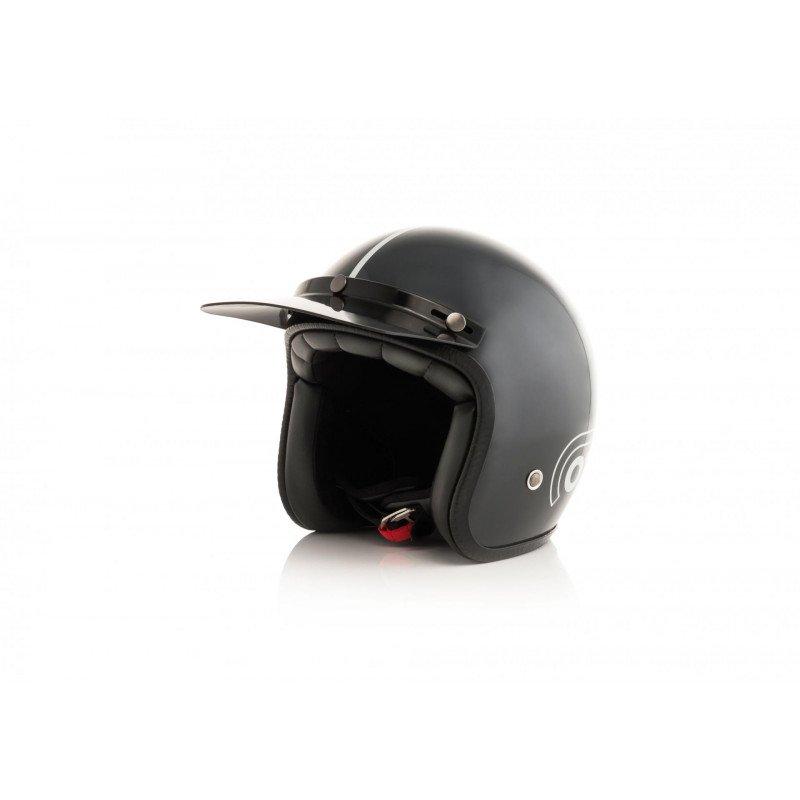Acerbis Ottano Casque jet Moto Casques & Accessoires Gris