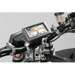 SUPPORT GPS QUICK-LOCK SW MOTECH POUR GUIDON