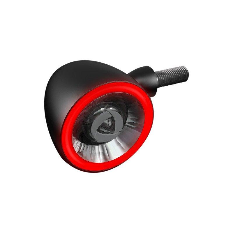 KELLERMAN Bullet 1000 DF NOIR Frein/feu arrière/clignotant