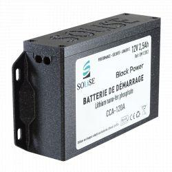Boitier de protection pour batterie de démarrage SOLISE BM12003 + carte d'équilibrage