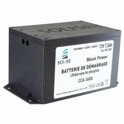 Boitier de protection pour batterie de démarrage SOLISE BM12007 + carte d'équilibrage