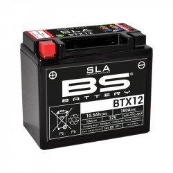 Batterie BS BATTERY BTX12 SLA sans entretien activée usine