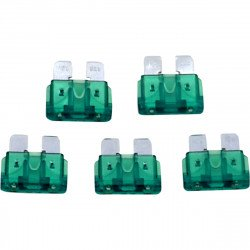PACK 5 FUSIBLES DE RECHANGE 30-AMP MINI NAMZ