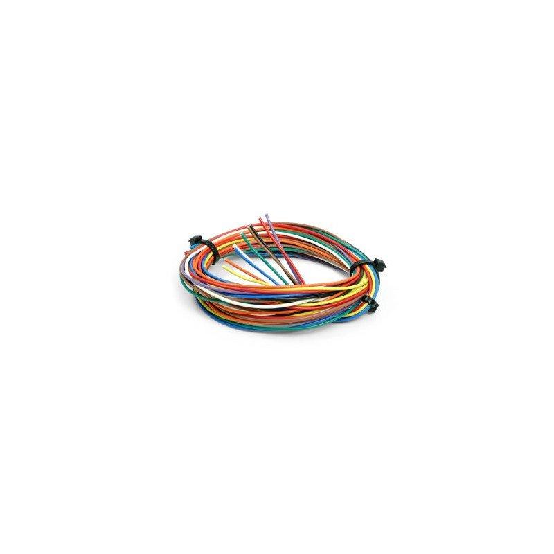 9 Câblages de 1m  Ø0.22mm2  REBELMOTO pour commodo older racer
