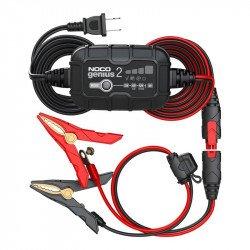 Chargeur de batterie intelligent montage direct cosses NOCO Genius 6/12V 2A