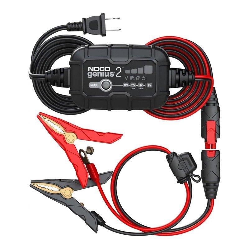 Chargeur de batterie intelligent montage direct cosses NOCO Genius 6/12V 2A older racer
